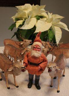 Vintage German Santa