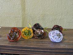 Ronald Baker's glass roses Fireworks Glass Studios