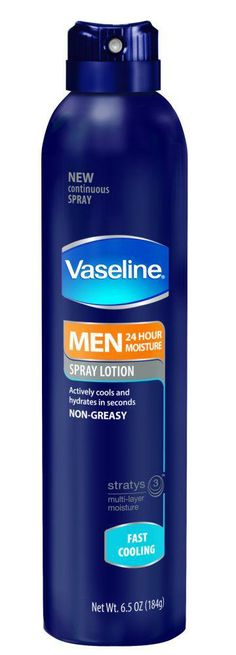 Vaseline Men Spray Lotion #MenSpray   I received this product complimentary from @Influenster for testing purposes.