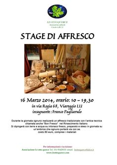 STAGE DI AFFRESCO | Altamiradecor, bottega d'arte di Franco Pagliarulo