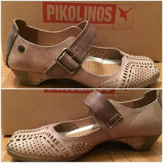 c733e16b491 HPPikolinos Mary Jane Pumps ➖SIZE  7 ➖BRAND  Pikolinos ➖100% leather   been  worn with wear on the band. However