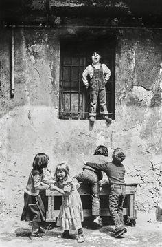 Canal~Art  « Les enfants de Milan » Cliché de Nino De Pietro