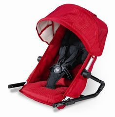Britax Second Seat for B-Ready Stroller, Red by Britax USA