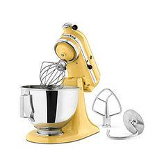 KitchenAid® 4.5-qt. Classic Plus Majestic Yellow Stand Mixer available at @Bon-Ton.