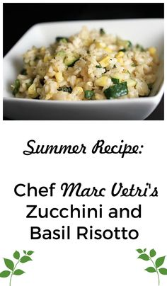 Your classic risotto just got that much better!