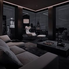 Black Bedroom Design, Black Interior Design, Home Room Design, Dream Home Design, Modern House Design, Dream House Interior, Luxury Homes Dream Houses, Dark Interiors, Dream Apartment