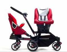 Orbit Baby Double Helix Stroller with swiveling seats, in case I ever have twins...