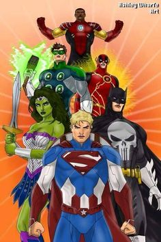 Mash-ups of members of the Justice League of America with various Marvel Characters. For anyone wondering why I paired each set of characters: Superman . Justice League of Marvel Marvel Dc Comics, Gi Joe, Comic Art, Comic Books, Superhero Characters, Flash Characters, Superhero Design, Marvel Heroes, Hulk Marvel