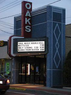 Oaks Theatre, Oakmont, Pa.  http://cinematreasures.org/