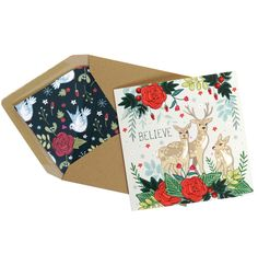 Cards by Angie Spurgeon - pack of four Envelope Liners, Kraft Envelopes, Peace And Love, How To Find Out, Christmas Cards, Believe, Greeting Cards, Packing, Joy