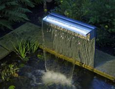 Ubbink - Niagara RVS - Waterval - 60 cm - Met LED - INOX 304