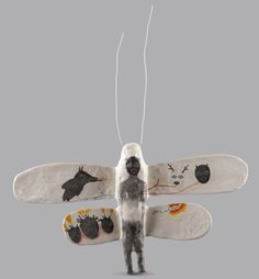 The Animal Inside/ Drawing/ Sculpture/ Mixed Media by Harem6/ Ildiko Muresan, via Behance