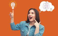 ¿Sabías que existe una relación directa entre el cerebro, el sistema digestivo y las emociones? Kombucha, Enteric Nervous System, Brain, Homemade Pickles, Onions, Whole Foods
