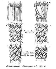 Paracord Knots, Rope Knots, Macrame Knots, Micro Macrame, 550 Paracord, Macrame Tutorial, Paracord Tutorial, Survival Knots, Knots Guide