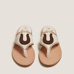 Beaded horseshoe sandal from Jack Rogers
