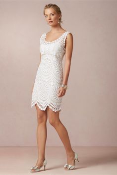 Willa Dress from BHLDN One of my favs - could look really nice with a white blazer for dinner