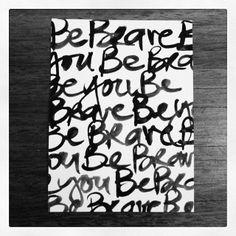 Falling in love with Brush Script. | Polka Dot Creative www.polkadotcreative.com.au