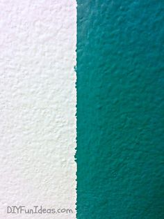 Three easy steps to getting perfectly sharp paint lines every time! Painting Stripes On Walls, Paint Stripes, House Painting, Diy Painting, Painters Tape Design, Striped Furniture, Diy Interior Doors, Spray Paint Wood, Ceiling Texture