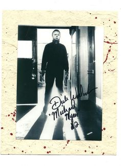 Halloween 2 - signed Dick Warlock/ The Shape.