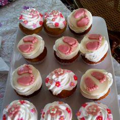 Babyshower cupcakes :) pink or blue...