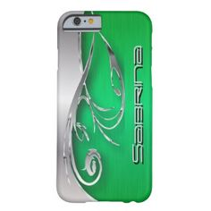 Bright Green iPhone