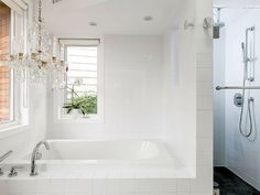 Super lux bathroom in this Toronto family friendly vacation rental.