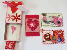 Valentine mini altered matchbox