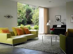 Kaplan Wright House LA - modern - living room - los angeles - David Churchill - Architectural Photographer