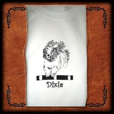 SHIH TZU AGILITY Personalized Original by OneDogFashions on Etsy