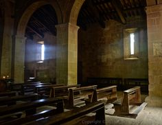 I visited this very old church in the village of Pienza, Italy and found the most beautiful light. The feeling was ethereal...