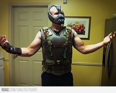 Bane is ready for Halloween