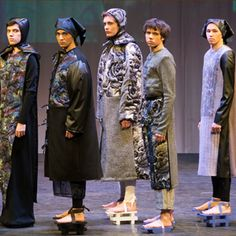 """Modeconnect.com features fashion competition """"Fashion Formula: East – West"""" at the Omsk State Institute of Service. Best in Performance 3rd Prize  Ekaterina Menschikova"""
