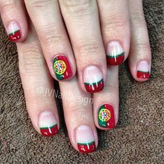 Portugal | 38 Awesome Nail Art Designs Inspired By The World Cup