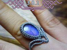 Macrame Rings, Micro Macrame, Paracord, Friendship Bracelets, Fiber, Gemstone Rings, Jewels, Gemstones, Crochet