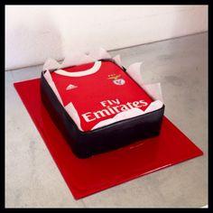 Benfica cake soccer cake polo cake