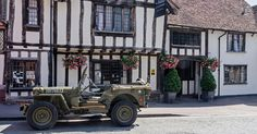 Travel Back in Time: The Swan at Lavenham