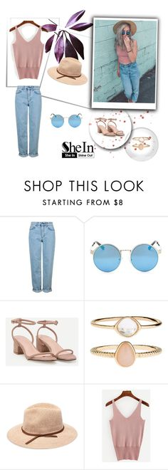 """""""SheIn 2/VI"""" by nermina-okanovic ❤ liked on Polyvore featuring Topshop, Accessorize and shein"""
