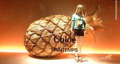 Chloe windows at Printemps Paris