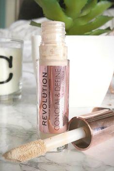 Makeup revolution conceal and define concealer first impressions.