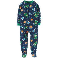 32be50e930 Child of Mine by Carter s - Baby Toddler Boy 1 Piece Blanket Sleeper -  Walmart.com