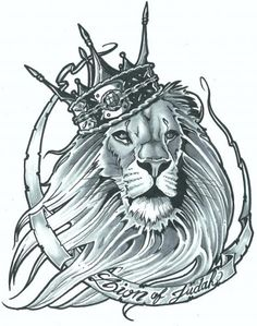 37 Best Lion Of Judah Tattoo Stencils Images Lion Tattoo Design
