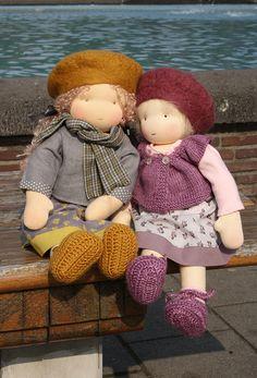by Fabrique Romantique, via Dress Doll Toys, Baby Dolls, Bear Doll, Doll Maker, Waldorf Dolls, Soft Dolls, Cute Dolls, Fabric Dolls, Crochet Dolls