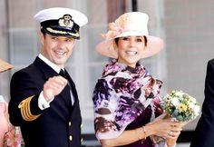 europeanmonarchies:  Crown Prince Frederik and Crown Princess Mary
