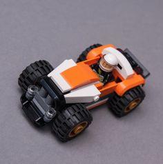 LEGO MOC-9980 60146 racing car (Town > City 2017) | Rebrickable - Build with LEGO