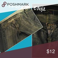 Mens jeans 34x34 button up Style2501-34 excellent condition..Levi Distressed jeans Levi's Jeans Bootcut