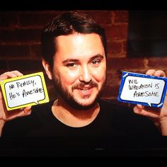 Wil Wheaton being awesome!