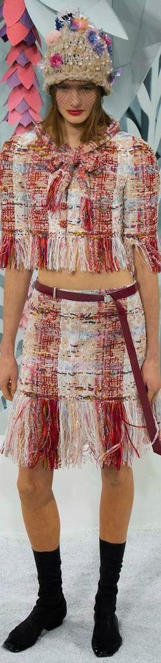 Chanel Spring 2015 Couture | The House of Beccaria~