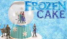 Read about How to Make a FROZEN Snowglobe Cake - on thecarousel.com