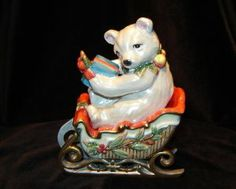 Fitz and Floyd 2003 Enchanted Holiday Salt and Pepper Shakers - 19/1454 by Fitz and Floyd. $29.99