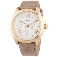 Fossil Women's AM4532 Cecile Rose Gold Watch | Overstock™ Shopping - Big Discounts on Fossil Women's Watches
